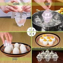 Cuit Oeufs Cuisson Oeuf,7 Egg Cooker Hard et Soft