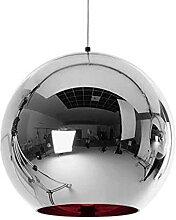 Cuivre verre boule pendentif éclairage globe