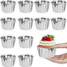 Cupcakes en Aluminium,50 pcs Caissette
