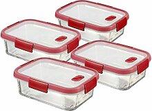 CURVER Cook Lot de 4 boîtes hermétiques