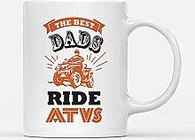 Custom Mugs Best Dads Ride ATVs Rider Quad Bike