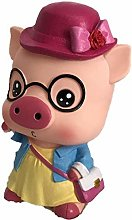 Cute Cartoon Pig Tirelire Piggy vinyle Tirelire