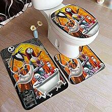 Cute Phones Ensemble de 3 tapis de salle de bain