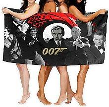 Cute Phones James Bond 007 Lot de serviettes de