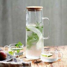 CuteLife – bouteille d'eau en verre avec
