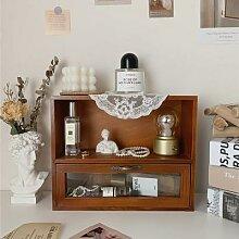 CuteLife – tiroirs en bois Vintage, étagère de