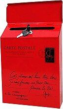 Cutogain Boîte aux Lettres Iron Lock, Boîte aux