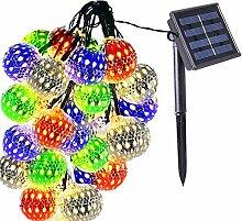 cuzile Guirlande Lumineuse Marocaine 20 LEDs 4.8