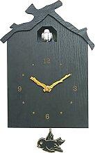 CVG Accessoires de Chambre Birdhouse Horloge à