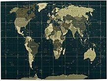CVSANALA Puzzles Photo 500 Pièces,Carte du Monde