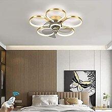 CXC Ventilateur De Plafond Avec Lampe,Plafonnier