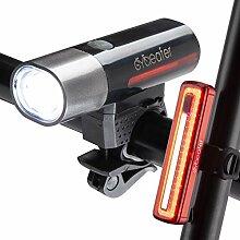 Cycleafer® Puissant Éclairage de Vélo Avant &