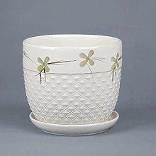 CYQ Pot de Fleur en céramique à Grand écart