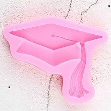 CYSJ DIY Graduation Moule en Silicone Bachelor Cap