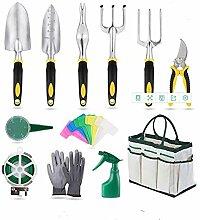 CYXY Ensemble d'outils de Jardinage 12 pièces