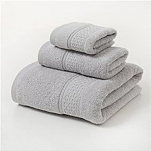 CZFWRX Ensemble de serviettes 3 pièces solide