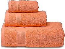 CZFWRX Ensemble de serviettes douces 100% coton,