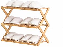 CZWYF Métal 6 Niveaux Rack Chaussure, Pull-Out