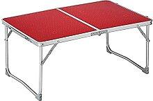 CZYNB Table de camping pliante en aluminium léger
