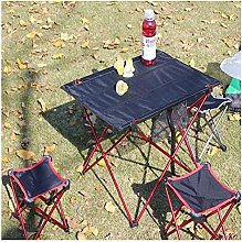 CZYNB Table de camping pliante ultra légère en