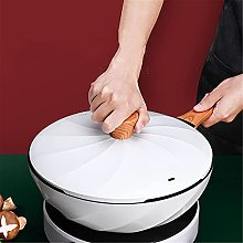 CZYNB Wok chinois anti-adhésif pour cuisson à