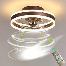 Dagea LED Éclairage Ventilateur de Plafond, avec