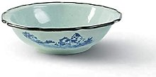Daily Accessories Ceramics Large Home Soup Basin