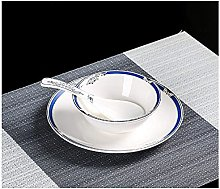 Daily Accessories Cutlery and Dish Set Single Art