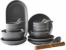 Daily Accessories Porcelain Dinnerware Set for 10