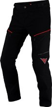Dainese Rainsun, pantalon textile - Noir/Rouge - 64
