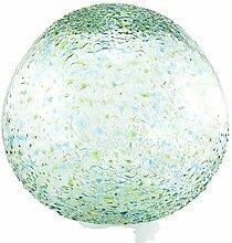 Daisy Gees Grande boule en verre moucheté vert