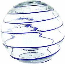 Daisy Gees Grande boule en verre SERPENTINAS avec