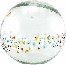 Daisy Gees Grande boule en verre soufflé à la