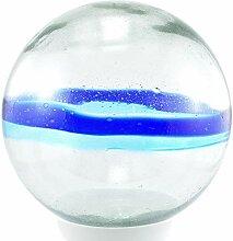 Daisy Gees Grande boule en verre Tulum esfera 26