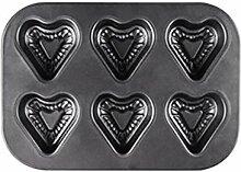 DAKIFENEY 6 cavités en acier au carbone pour
