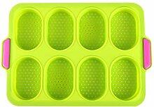 DAKIFENEY Moule à muffins en silicone pour petits
