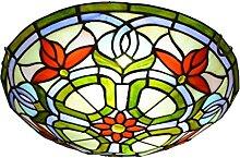 DALUXE Lampe de Plafond de Style Tiffany de Style