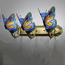 DALUXE Lampe Murale de Style Tiffany 3 lumière,