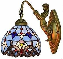 DALUXE Lampe Murale de Style Tiffany de 8 Pouces