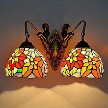 DALUXE Lampe Murale de Style Tiffany, Verre