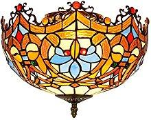 DALUXE Lampes De Plafond De Style Tiffany De 12