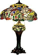 DALUXE Lampes de Table de Style Tiffany