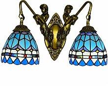 DALUXE Tiffany Style Appliques, Lampe Murale E27