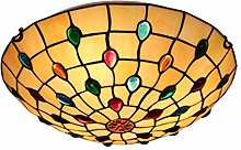 DALUXE Tiffany Style Lumières de Plafond, Lampe