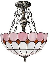 DALUXE Tiffany Style Pendentif Lampe 16 Pouces