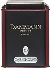 Dammann Frères - Coquelicot Gourmand - 80gr boite