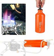 DaMohony Réchaud à gaz portable de 530 ml,