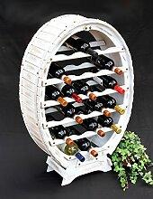 DanDiBo Casier à vin en bois pour 24 bouteilles -