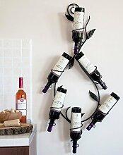 DanDiBo Casier à vin Natura 100cm en métal