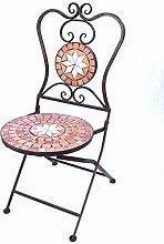 DanDiBo Chaise Mosaïque Merano 12002 Chaise de